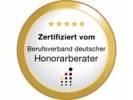 Zertifiziert vom Bundesverband deutscher Honorarberater
