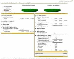 Beispiel Einnahmen/Ausgaben Rechnung
