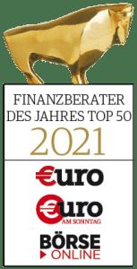 Finanzberater des Jahres 2021 Top 50